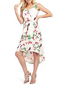 Womens Carnations Midi Length Dress Wolf & Whistle Sale Good Selling Visit Online Clearance Release Dates Discount Order DZvbHJv3C