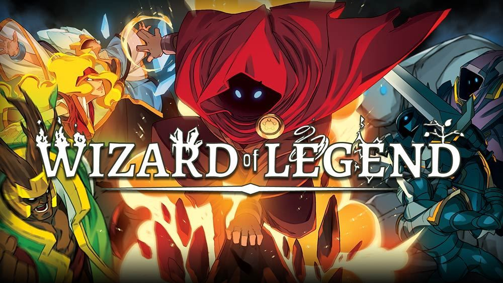 SNESStyle Dungeon Crawler Wizard of Legend Out Now