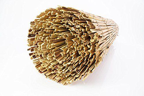 Sichtschutzmatte Balu Aus Gespaltenem Bambus Naturfarben