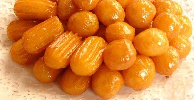 طريقه عمل بلح الشام اللذيذ بخطوات سهلة وسريعة عالم المرأة Arabic Sweets Food Yummy Sweets