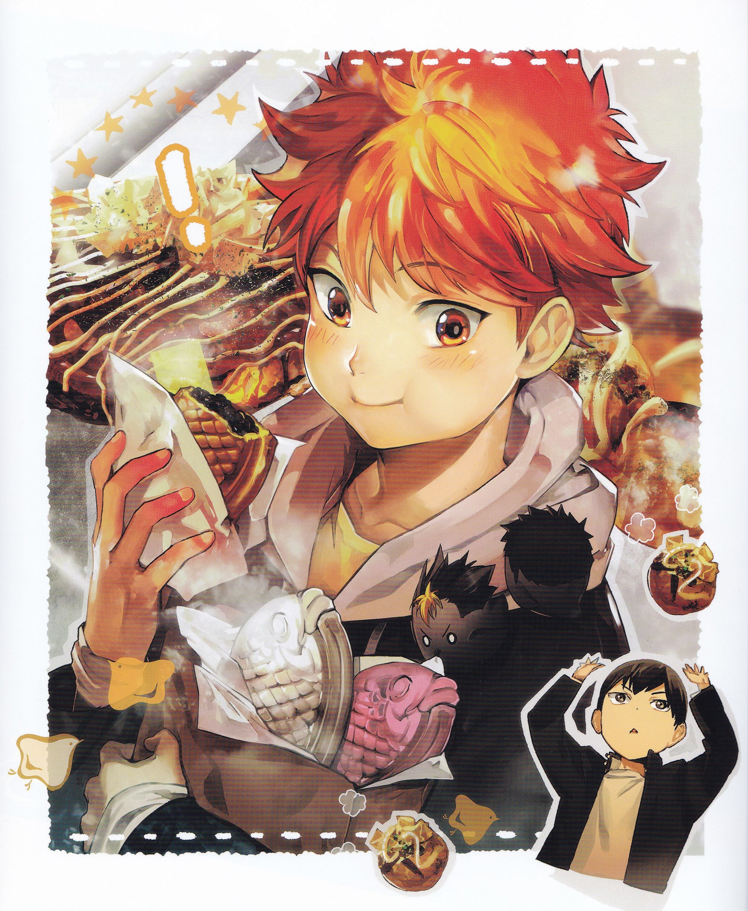 Haikyuu!! Food Illustration Book Haikyuu anime, Haikyuu
