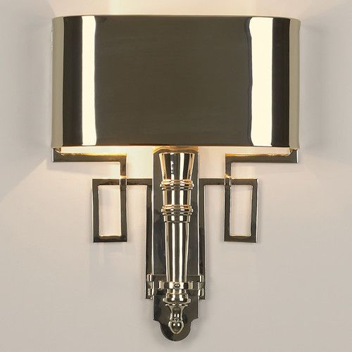 Global Views Hardwired 2 Light Torch Sconce | Bathroom | Pinterest ...