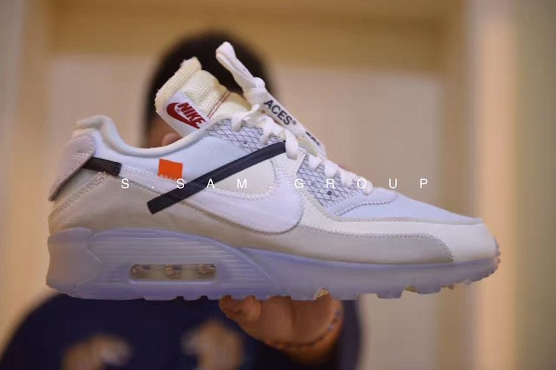 New images of the OFF-WHITE x Nike Air Max 90 ICE that is expected