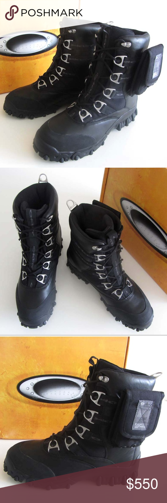15bb2c1e883 Oakley Shoes | New Oakley Thermolite Waterproof Hiking Boots 12 ...