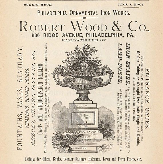 Vintage Garden Pottery Advertisements 1876 By GospelHymnsVintage