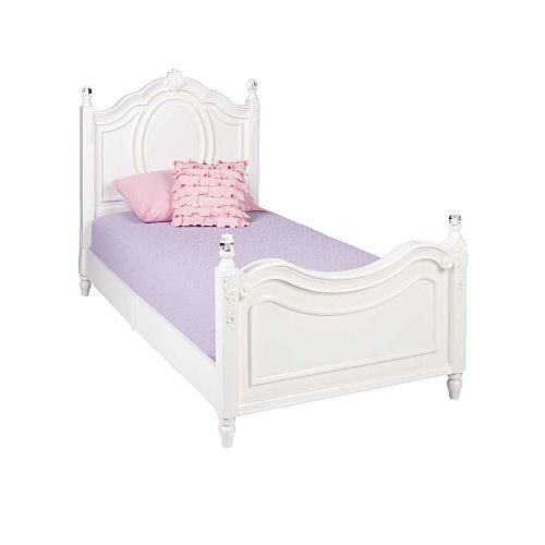 Najarian Furniture Duchess Twin Bed White Najarian Furniture