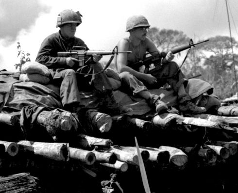 Soldiers from 3rd Battalion, 8th Infantry, 4th Infantry
