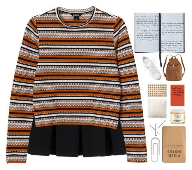"""""""i dream..."""" by pups27 ❤ liked on Polyvore featuring Alexander Wang, Monki, Bulgari, Burt's Bees, Smythson, Pottery Barn, BAGGU and Golden Goose"""