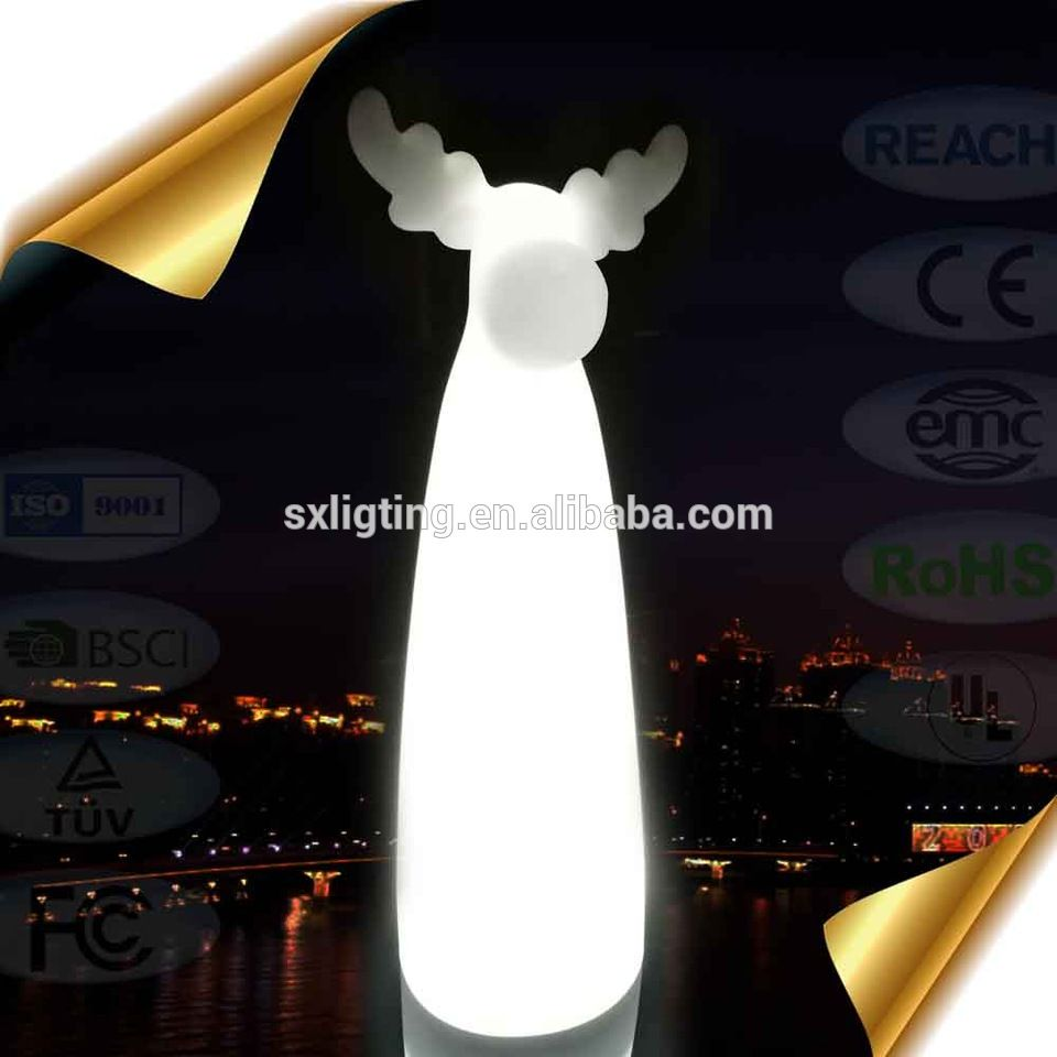 Cordless Led S Reindeer Outdoor Christmas Deer Illuminated Decorations
