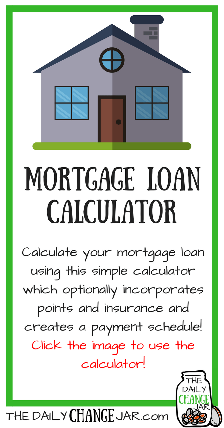 simple mortgage loan calculator