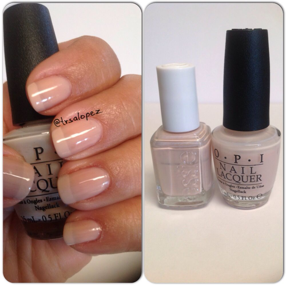 Nude french manicure