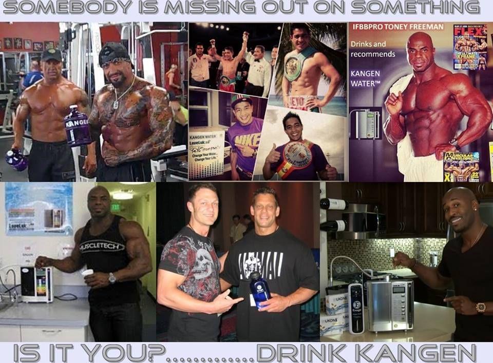 Pro athletes are drinking Kangen water watch video 3