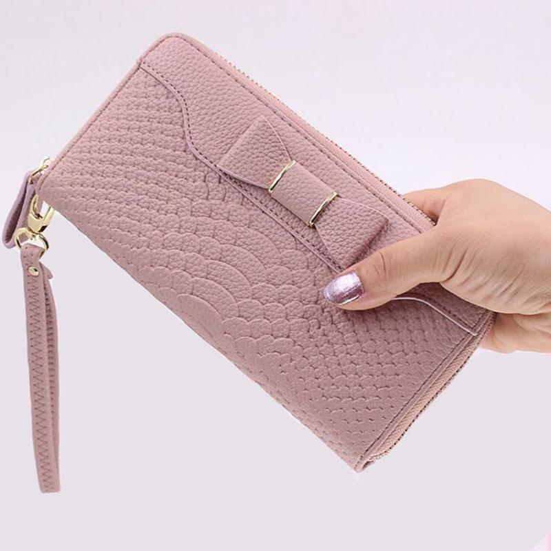 Ladies Womens Long Purse Money Wallet Zipper Card Holder Fashion Handbags Gifts