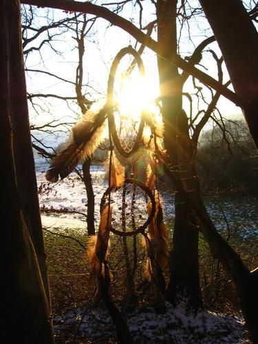 Dreamcatcher by Dorothee Rieß, via Flickr