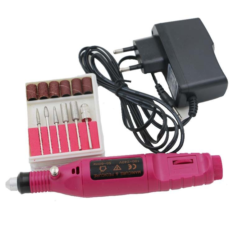 Most Wanted! Mini Electric Nail Buffer Machine //Price: $19.53 ...