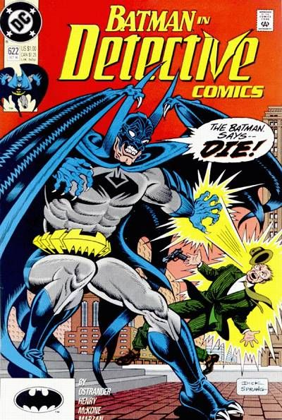Detective Comics Vol 1 622 | Batman comic books, Comics, Comic covers