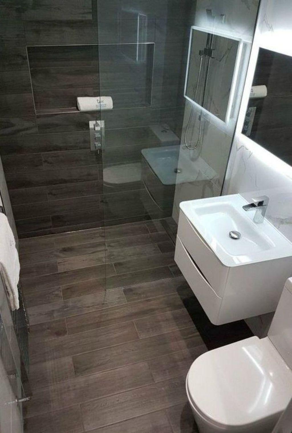 36 Nice Small Bathroom Design Ideas That You Should Copy In 2020 Modern Bathroom Design Bathroom Design Small Modern Bathroom