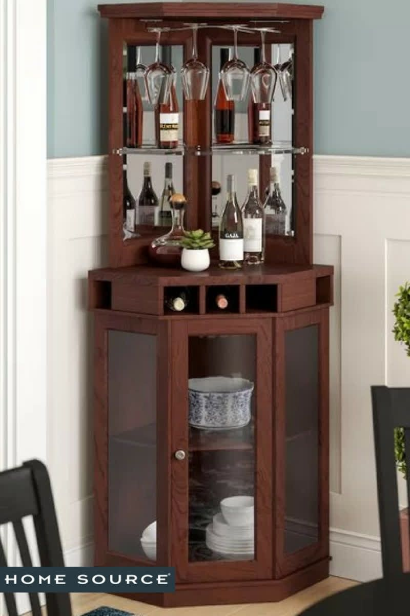 Home Bar Unit Corner Bar Cabinet Home Bar Cabinet