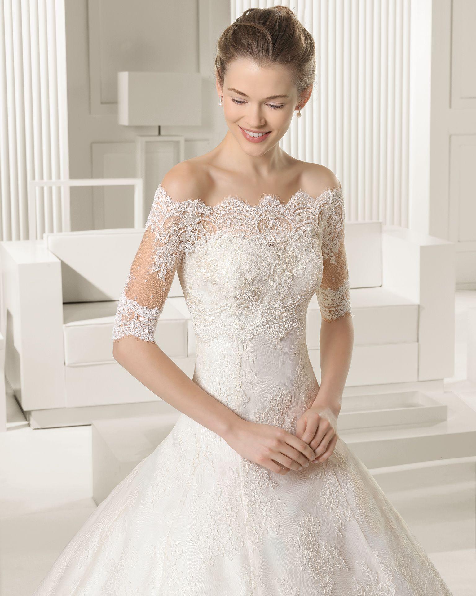 картинки свадебные платья с плечами акции