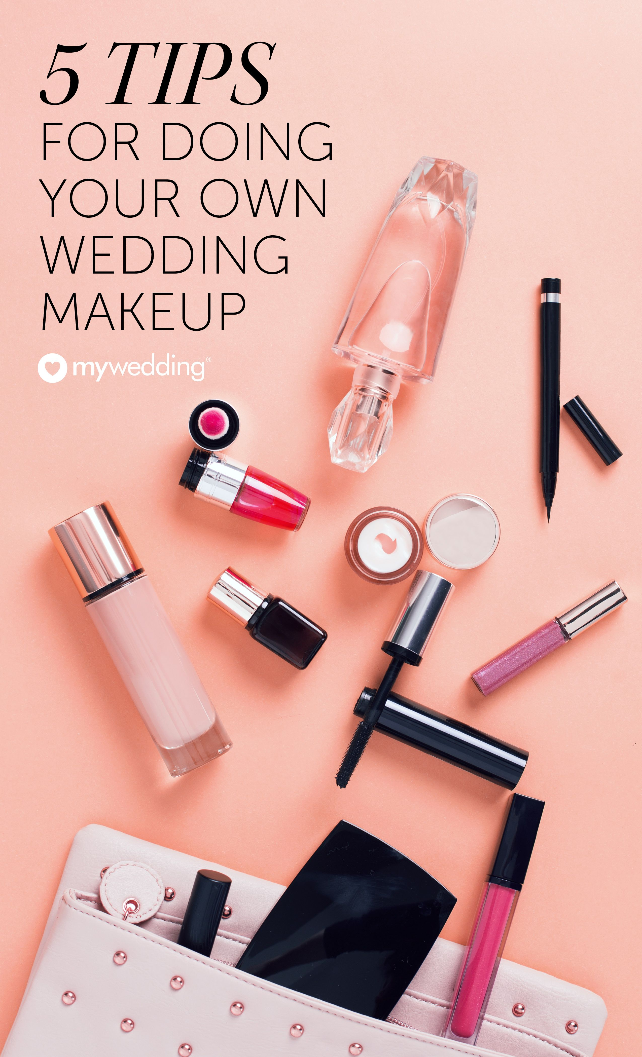 Makeup Advice for Doing Your Own Wedding Day Look - mywedding