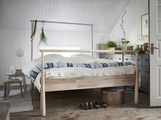 le lit baldaquin se refait une beaut d co lit ikea lit et lit baldaquin