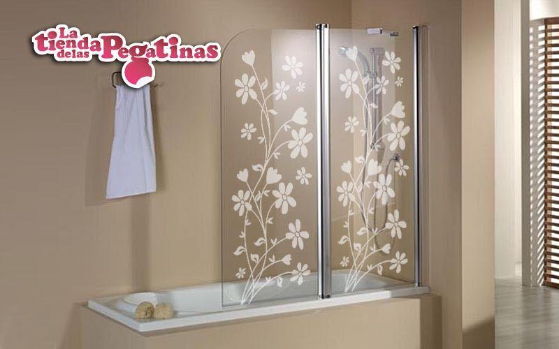 Vinilos decorativos de pared florales fl 0045 enredadera - Vinilo mampara ducha ...