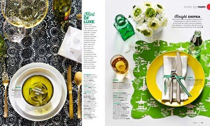 Real Living Magazine spread #publication #editorial #layout
