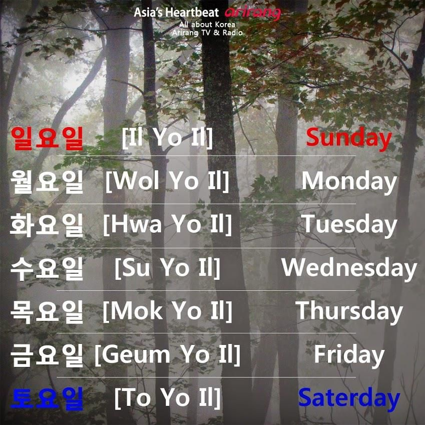 Korean Words, Learn Korean, Vocabulary