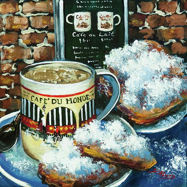 And Cafe Au Lait by Dianne Parks New orleans