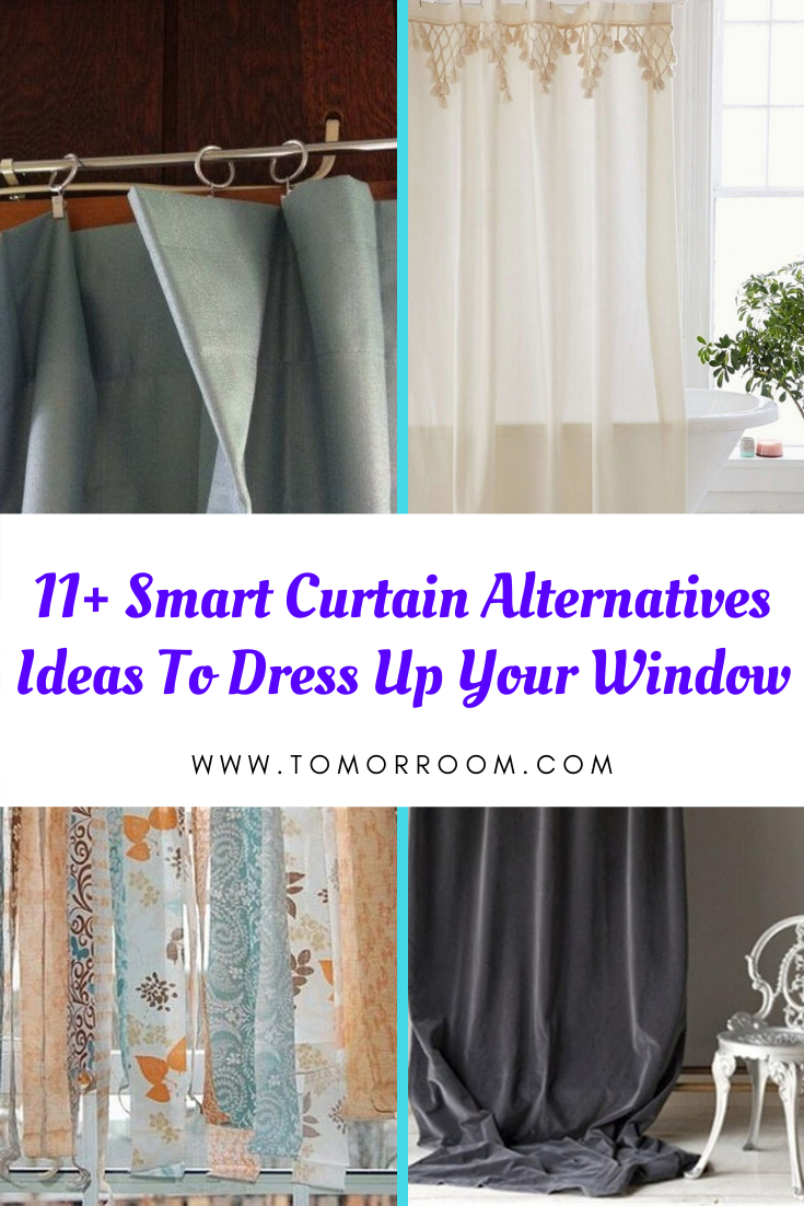 12+ Smart Curtain Alternatives Ideas To Dress Up Your Window ...