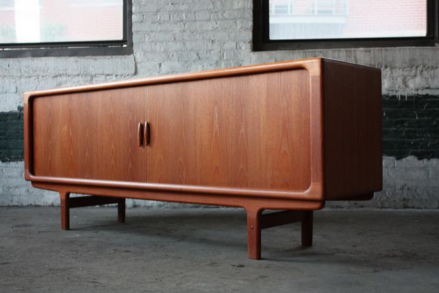 mid century modern teak credenza for sale danish door los angeles