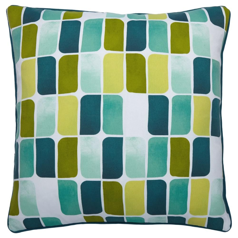 Mojito collection decorative watercolor pillowchair pads and