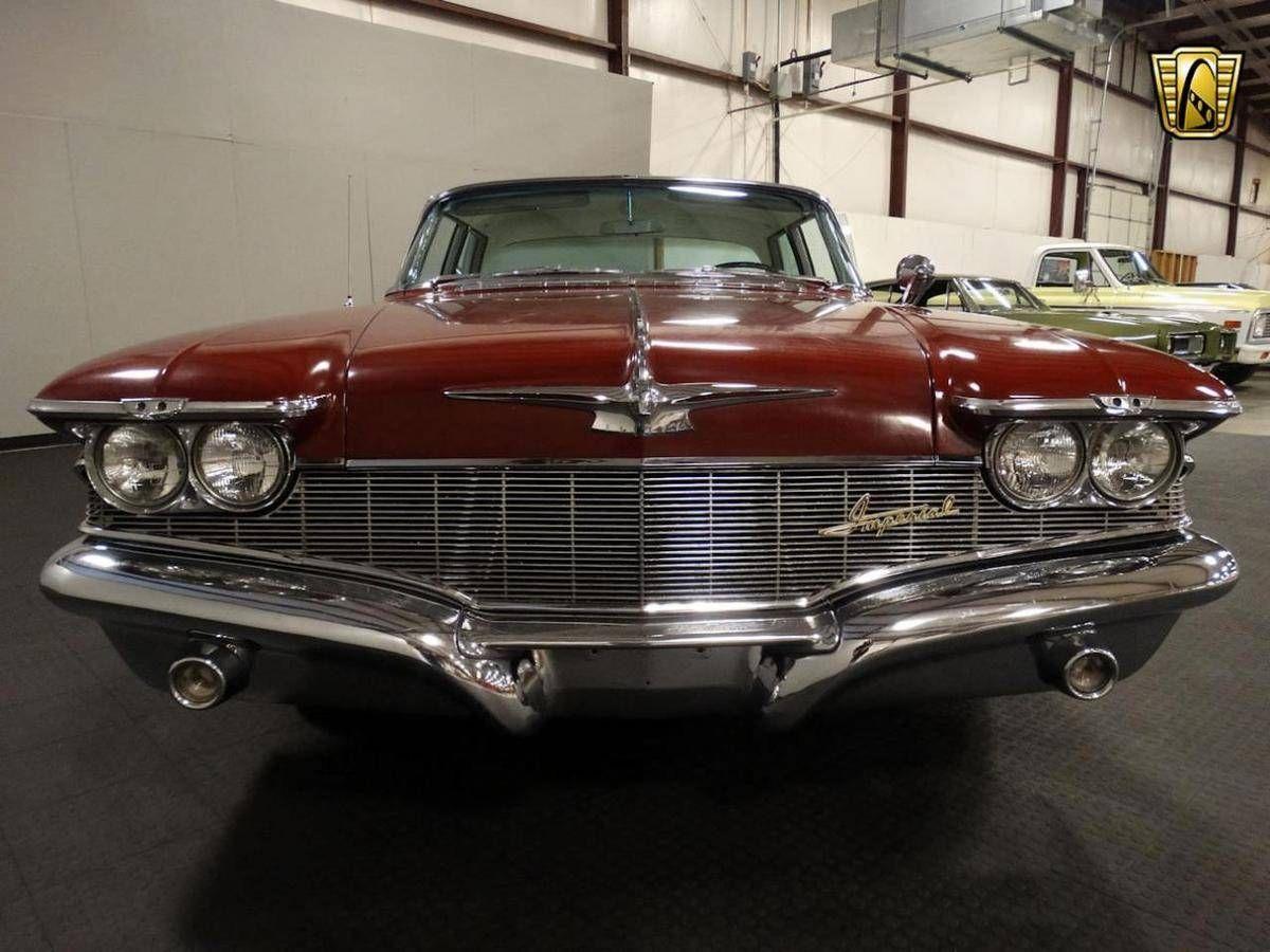 1960 Chrysler Imperial Sedan Retro Cars Chrysler Imperial