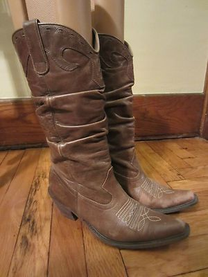 0f7c4b2e934 Ladies STEVE MADDEN brown leather