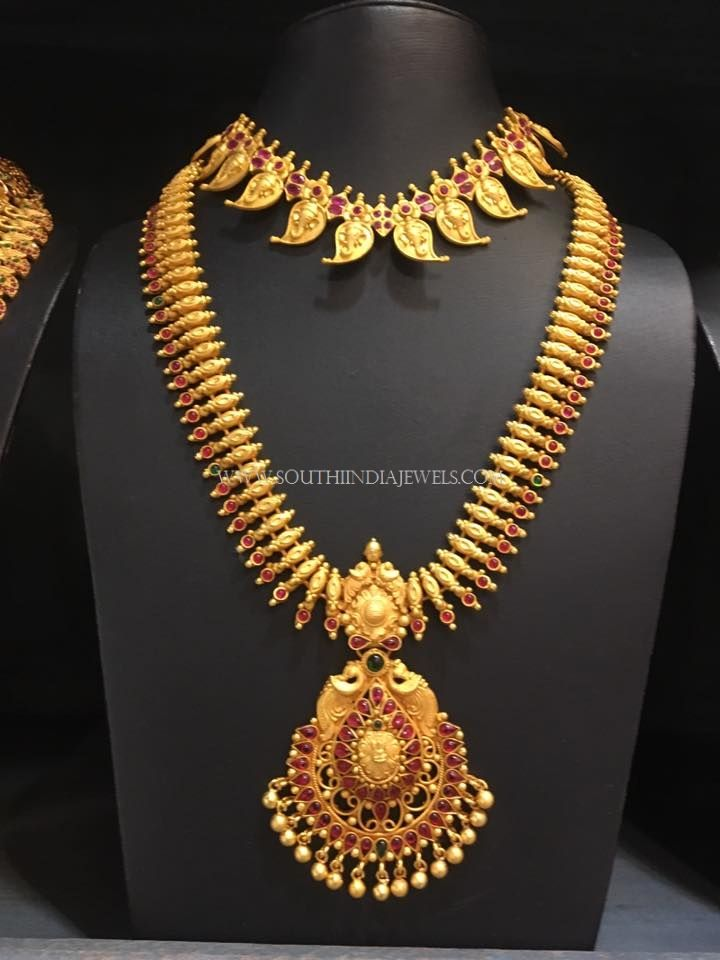 South Indian Bridal Jewellery Set | Indian bridal jewelry sets ...