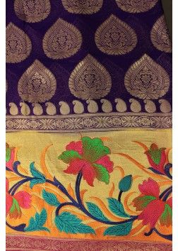 fabric for anarkalis jamawar - Google Search