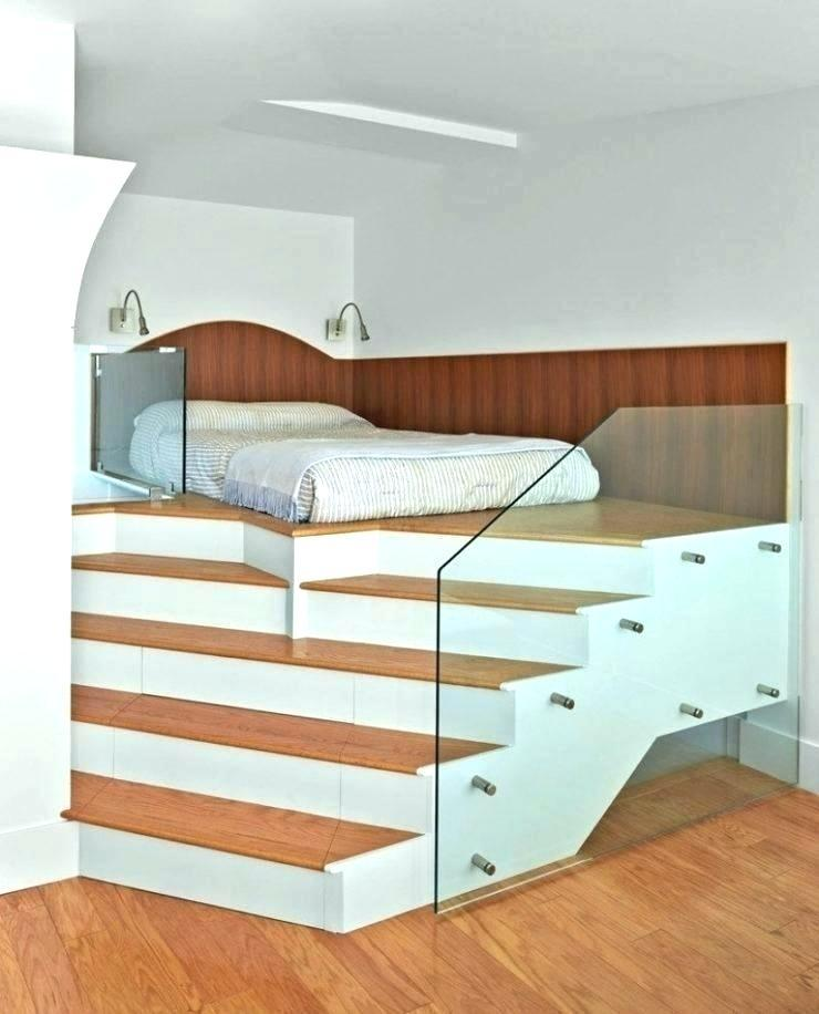 Elevated Platform Bed Frame Queen With Storage Plans