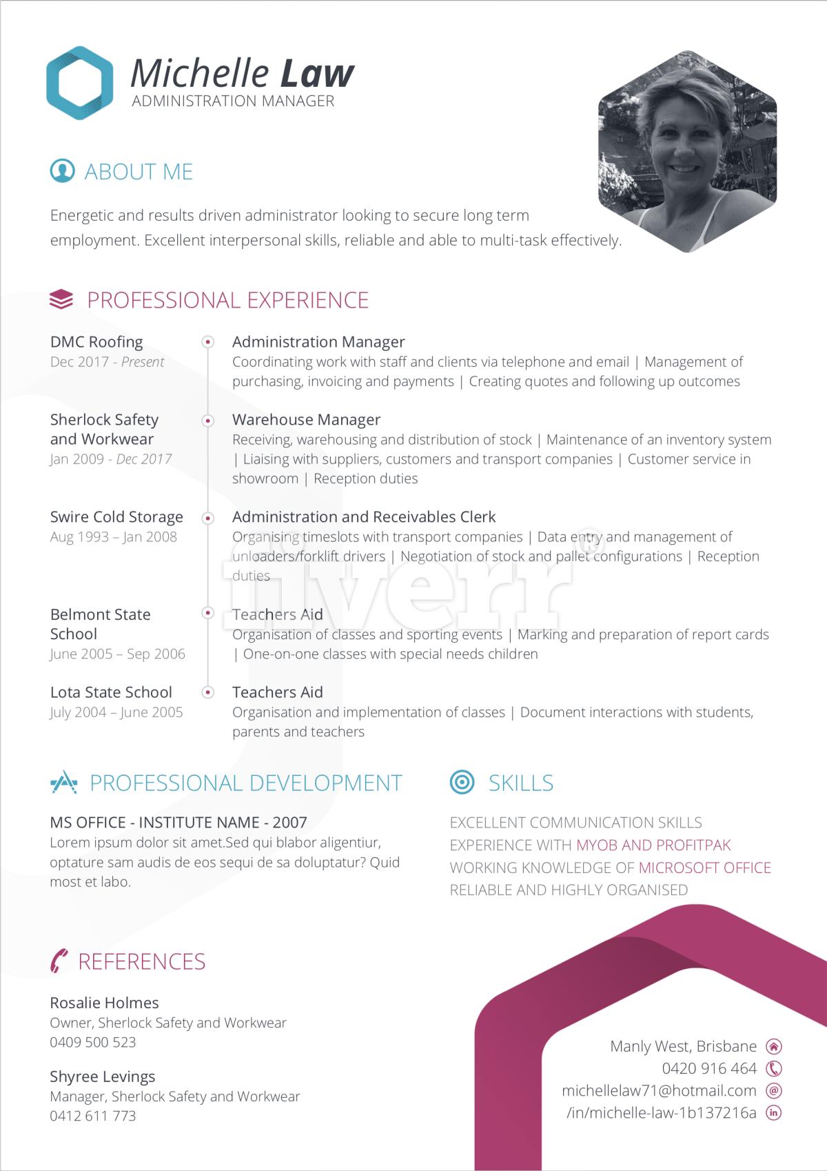 Professional Resume Design Service