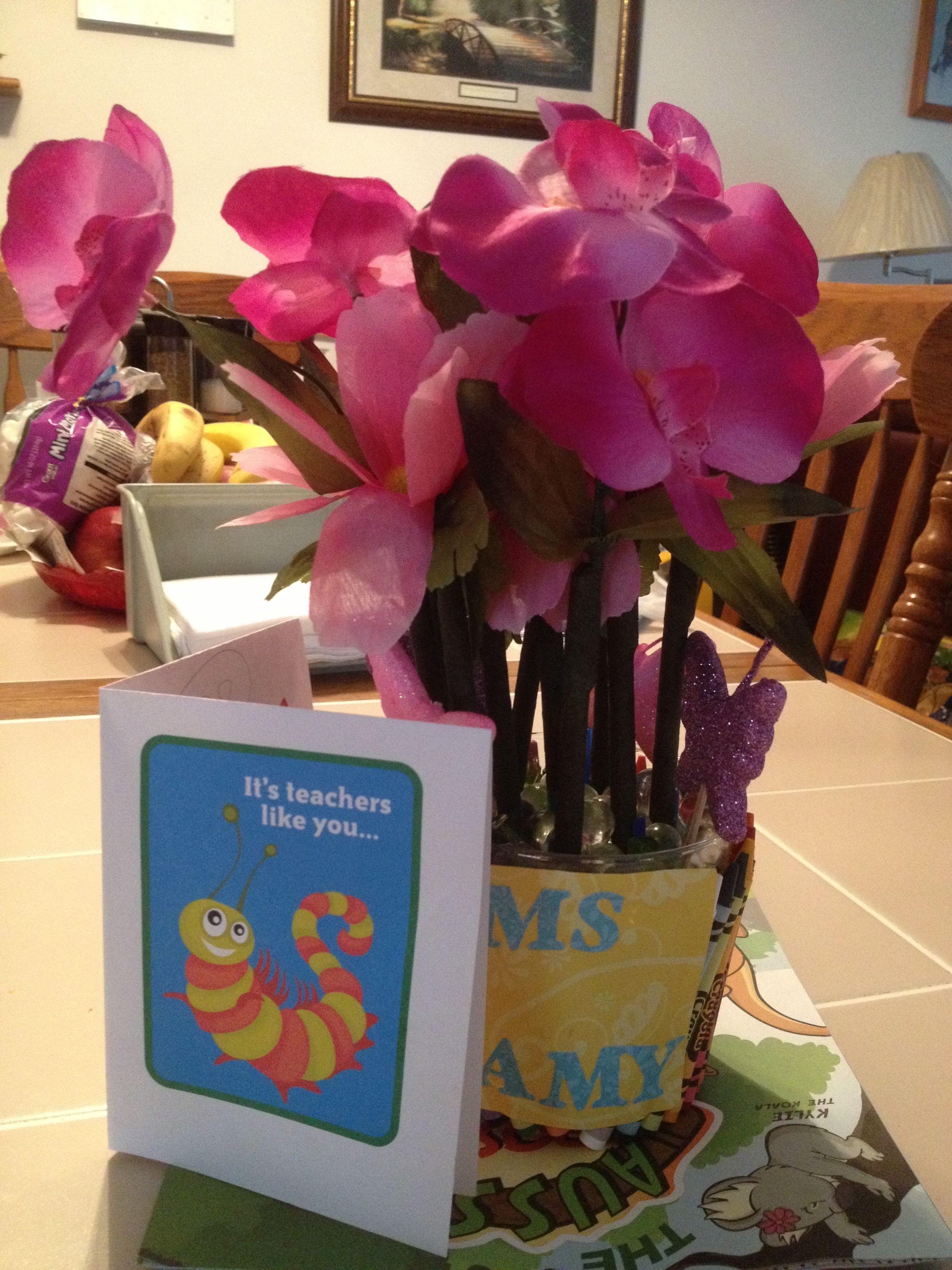 End of year teacher appreciation gift teacher
