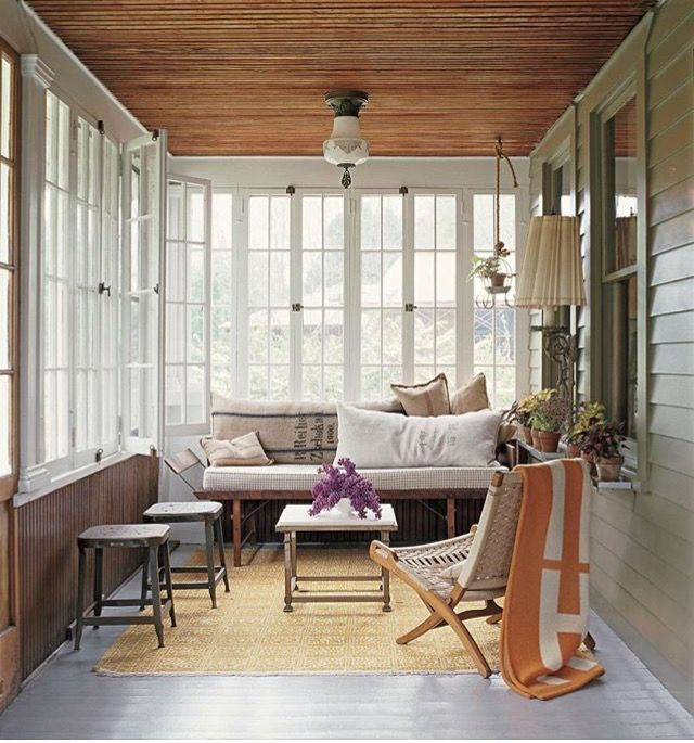 Interior Sunroom Addition Ideas: Pin By Ebru Ozkan On Fantastic Balconies (With Images