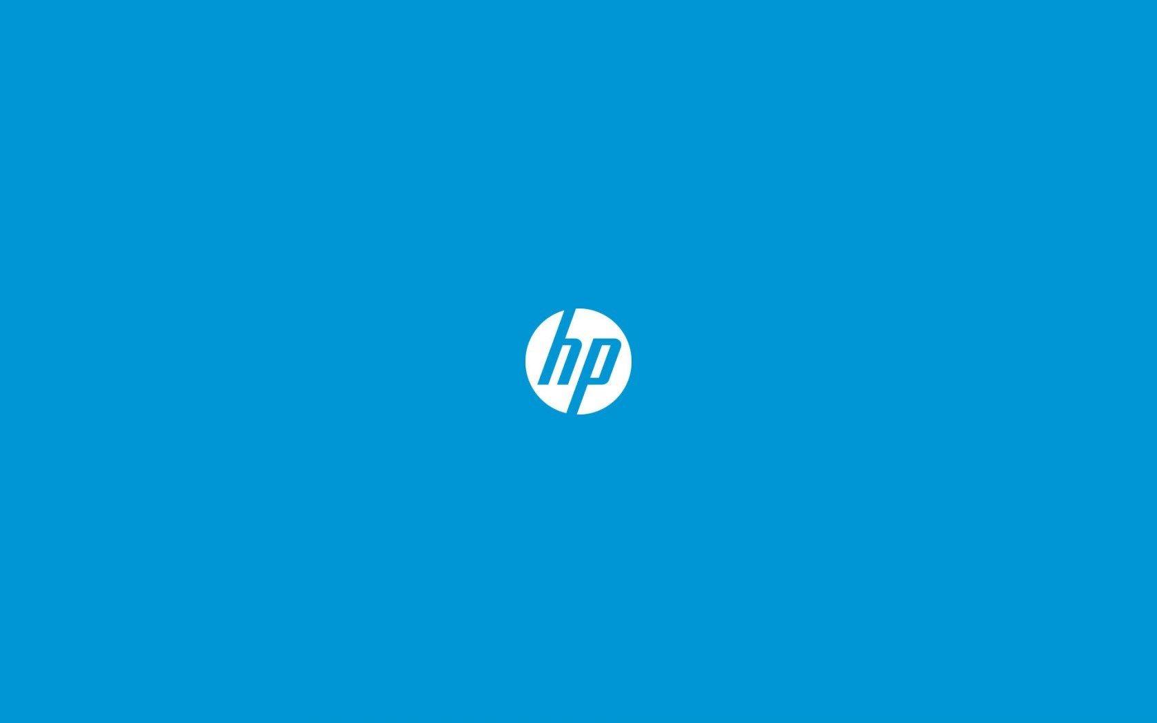Hp Hewlett Packard Logo Hd Wallpaper Freehdwalls Hp Logo Hewlett Packard Logo Widescreen Wallpaper