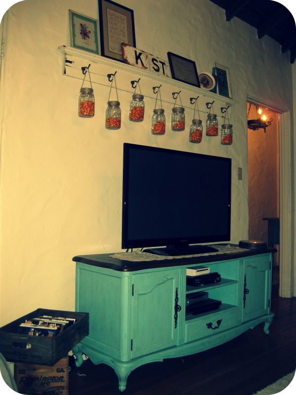 shelf above tv~Posts Tagged \'home made lovely\' | Life Made Lovely ...