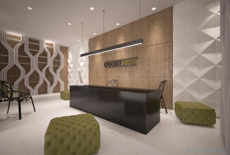 office reception lighting ideas - Google Search