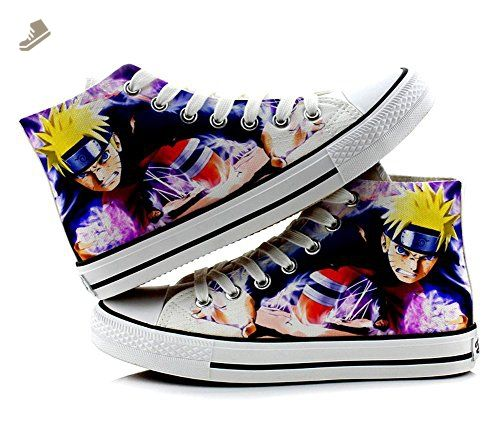 Naruto Cosplay Shoes Canvas Shoes Sneakers Colourful 1