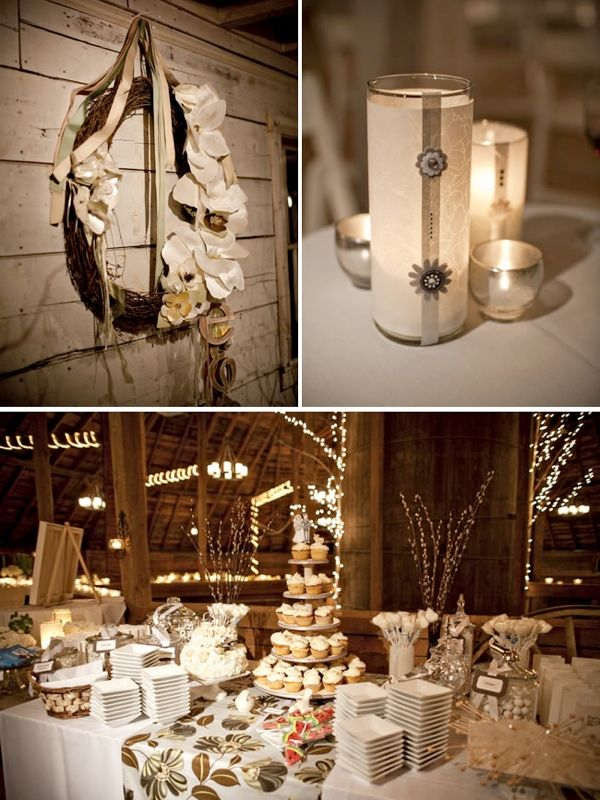 Rustic Wedding Decor For Sale  Cheap wedding decorations, Barn