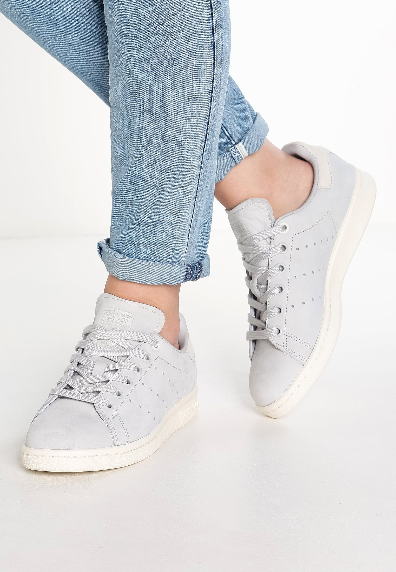 adidas Originals STAN SMITH - Trainers - light solid grey ...