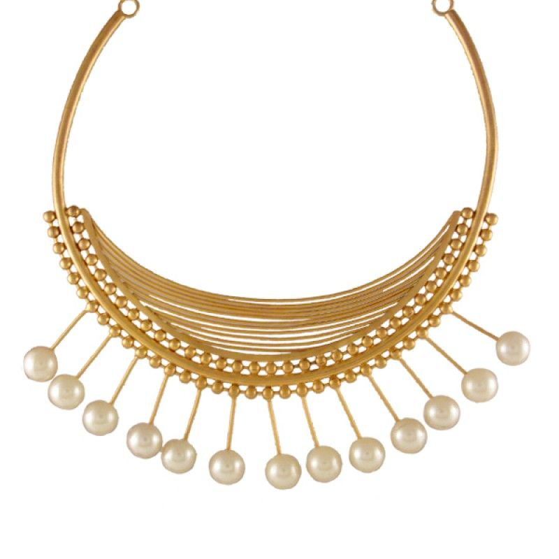 Kilangi Necklace with Pearls