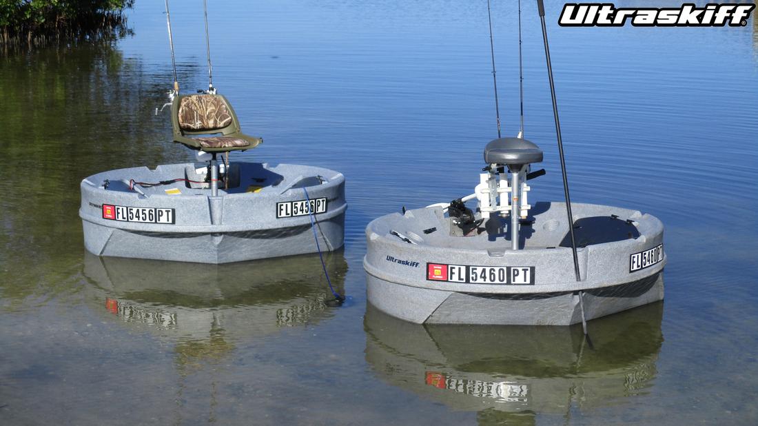 Ultraskiff Home Page, Round Boat, Round Watercraft, Round