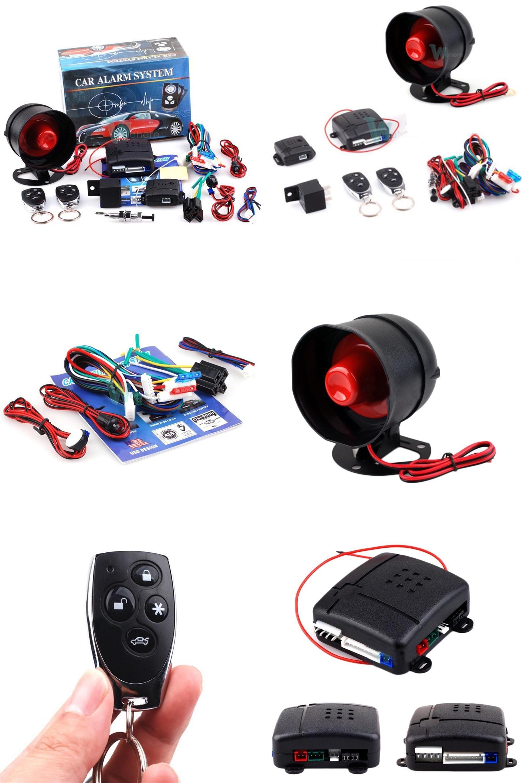 visit to buy konnwei universal 1way car alarm vehicle system protec tion