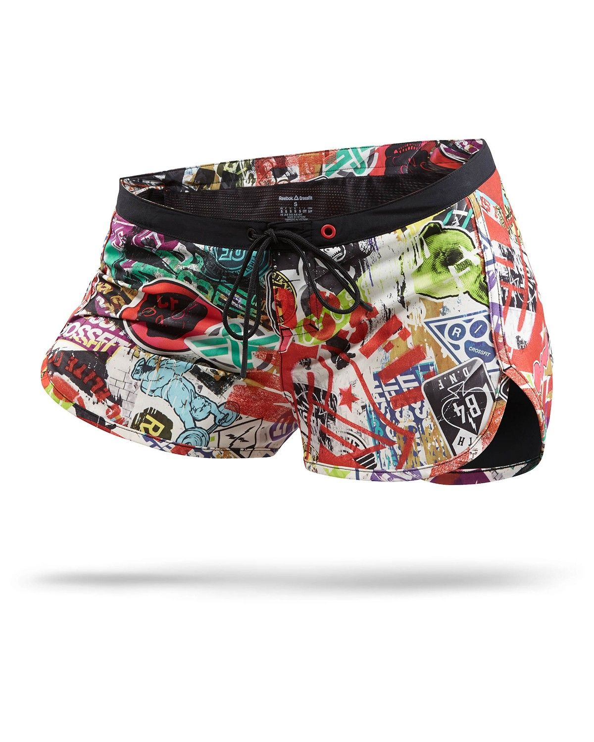 7f6813a59bd Women Reebok CrossFit Recycled Woven Training Short Print | crossfit ...